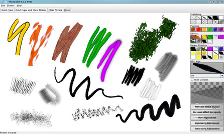 Flowpaint Kreslete Jako Na Papir Pomoci Vaseho Tabletu Linux