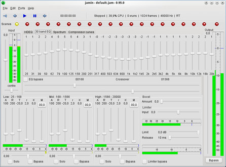JAMin – 30 band EQ