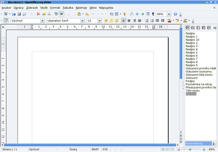OpenOffice.org 3 Writer