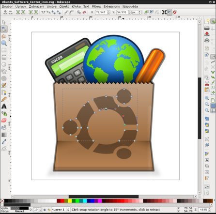 Inkscape je plnohodnotnou náhradou Adobe Illustratoru