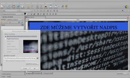 Kompozer slouží ke stejnému účelu jako Adobe Dreamweaver