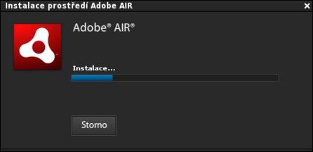 Instalace Adobe AIR