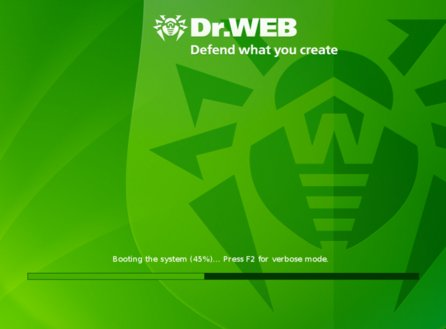 Dr.Web – boot CD