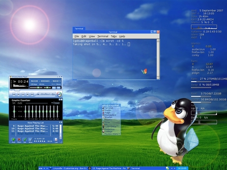 Téma Windowbox, http://customize.org/fluxbox/themes/53203