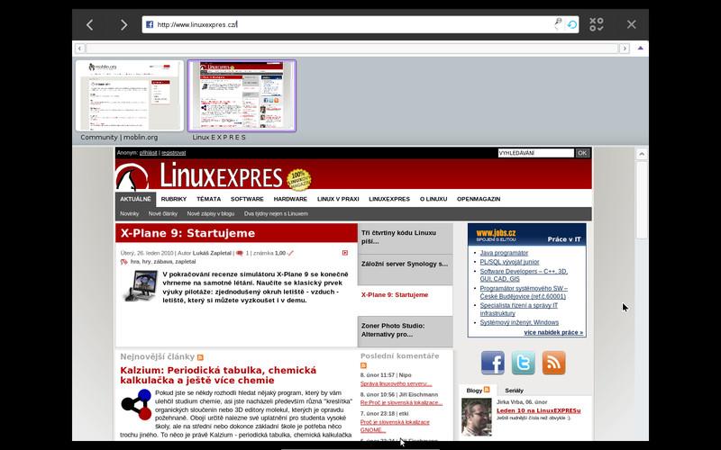 Jednoduchý webový prohlížeč