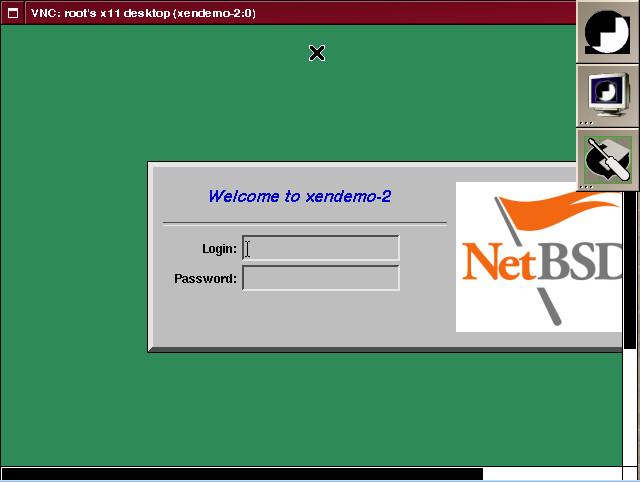 NetBSD pod Debianom v prostredí Xen