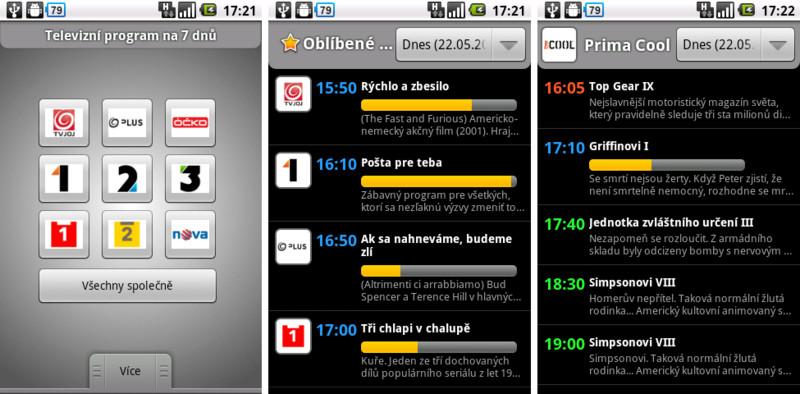 TV Program – stovka stanic v jedné aplikaci