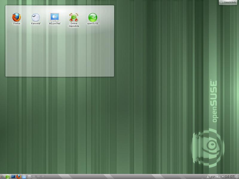 KDE 4.7 v distribuci openSUSE