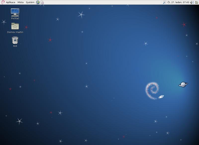 Debian 6 Squeeze je aktuálním stabilním vydáním distribuce, najdete v něm ještě GNOME 2