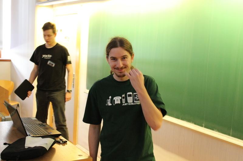 Lukáš Hejkal (v popředí): Introduction of CuBox, Raspberry Pi and BeagleBone