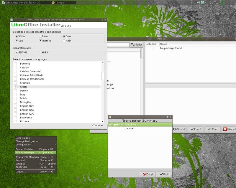 Instalátor LibreOffice