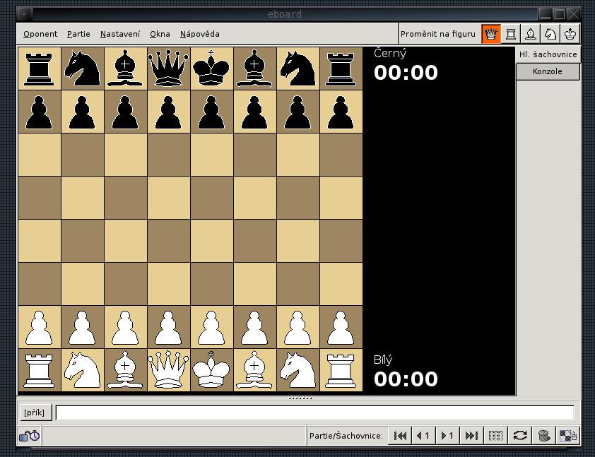 Šachy v Linuxu - Linux E X P R E S
