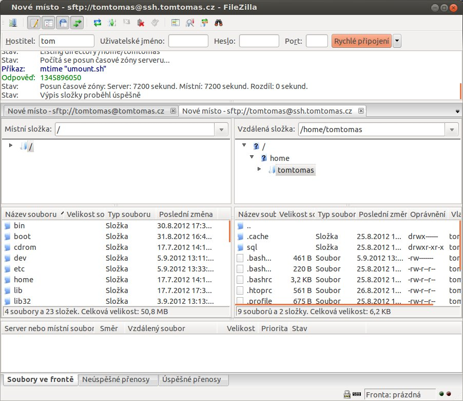 Filezilla server fxp