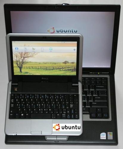Dell Inspiron Mini 9 - srovnání s notebookem