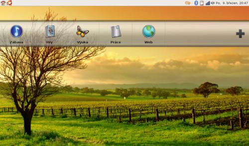 Upravené Ubuntu s Dell Desktop