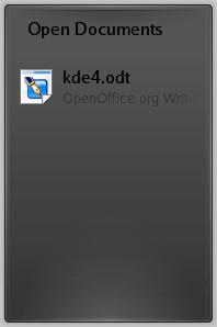 Aktuálně otevřené dokumenty
