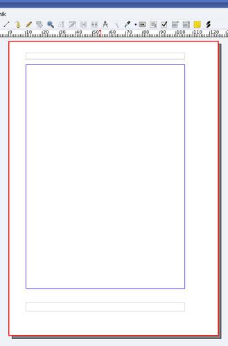 Vložený rámec pre záhlavie a zápätie