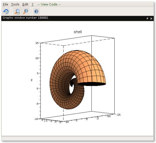 Ukázka animace ve Scilabu