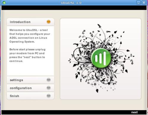 UbuDSL 1.0