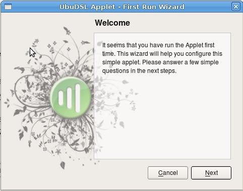 První spuštění Appletu