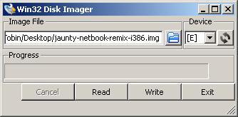 Vytvoření LiveUSB v MS Windows