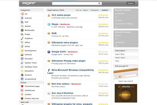 Appnr.com - databáze aplikací s možností snadné instalace