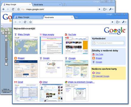 Prohlížeč Google Chrome, zdroj google.com