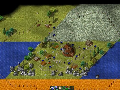 Widelands - obrázek ze hry