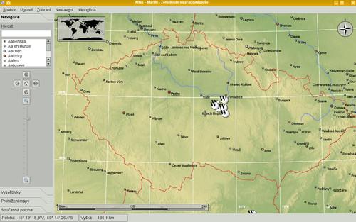 Základní mapa Marble (atlas)