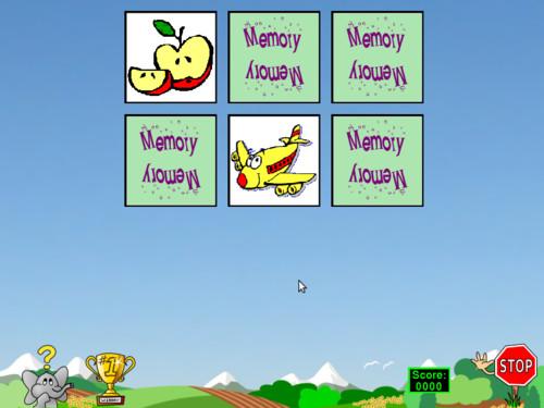 Pexeso pro trénink paměti