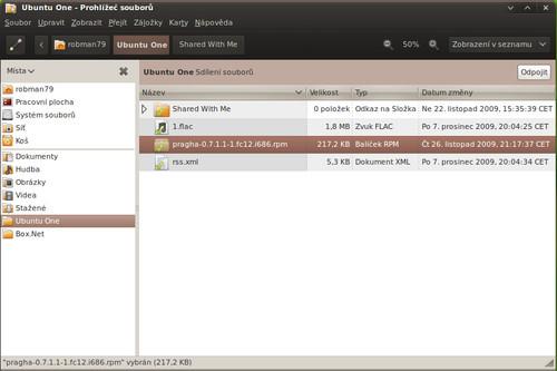 Ubuntu One: Bezchybná integrace do systému