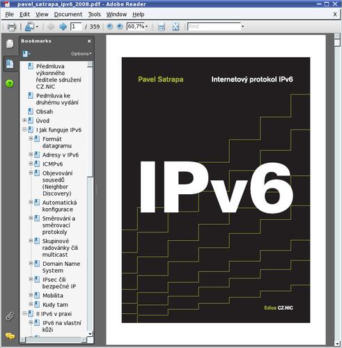 """Stiahnutá kniha """"IPv6"""""""