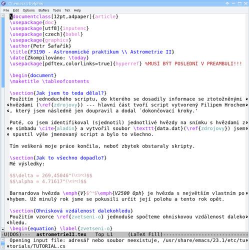 Editor Emacs