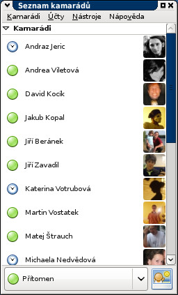 Facebook chat v Pidginu přes protokol XMPP