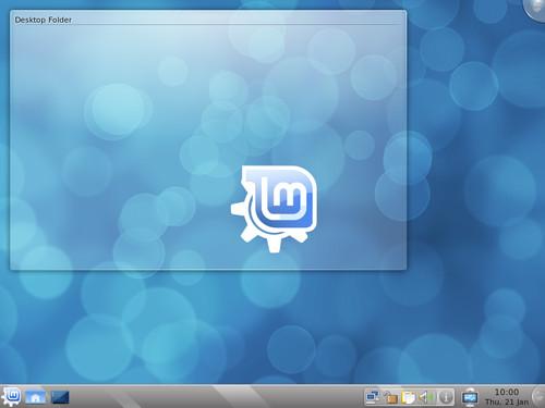 Linux Mint 8 – KDE edice, zdroj linuxmint.com
