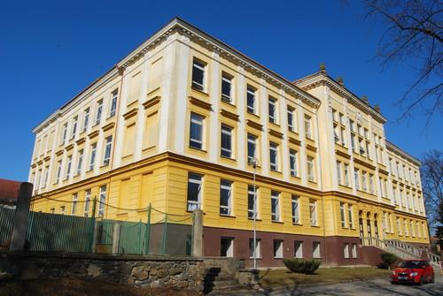 Budova Gymnázia Jevíčko