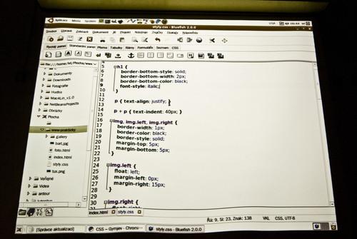 Dneska učíme HTML a CSS :-)