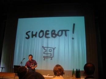 Ricardo Lafuente predstavuje program Shoebot