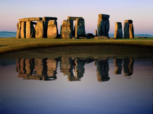 Stonehenge ve vodě