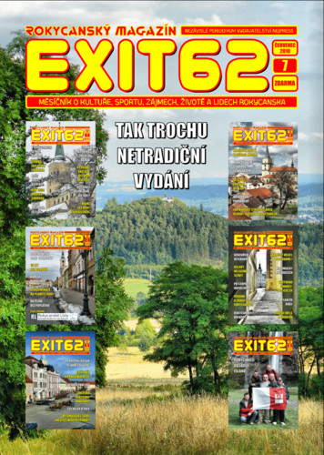 Titulní strana rokycanského magazínu EXIT62