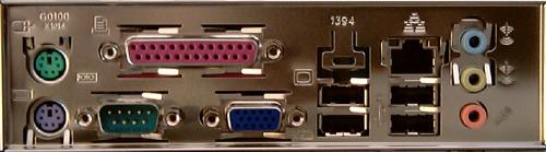 Dostupné porty pro připojení externích zařízení