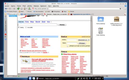 Webový prohlížeč a správce souborů v jednom, to je Konqueror