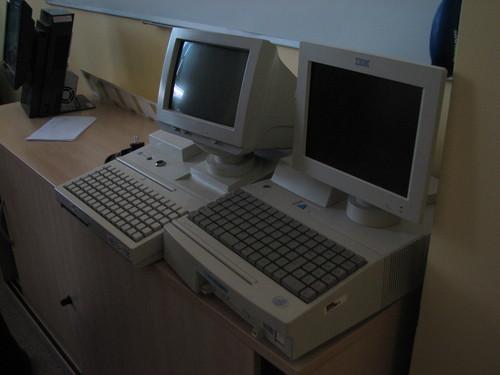 Starší IBM pokladny