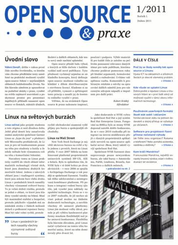 Titulní strana novin