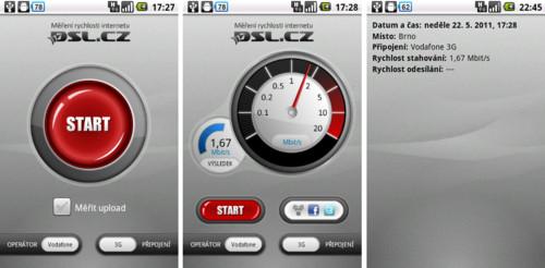 DSL.cz – změřte rychlost mobilního připojení