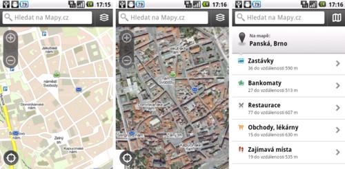 Mapy.cz – důstojná konkurence mapám od Googlu