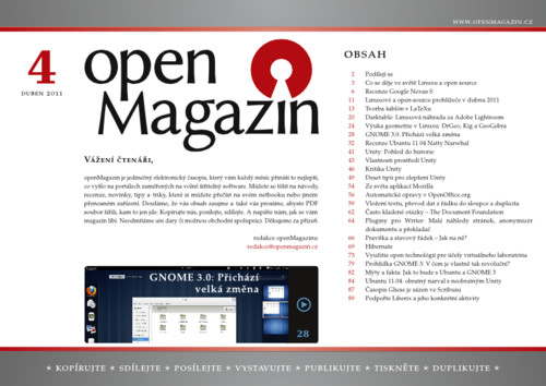Kliknutím na obrázek stáhnete openMagazin 04/2011 ve formátu PDF