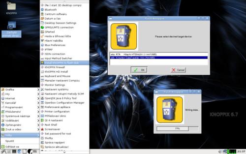 Vlastní instalátor pro tvorbu spouštěcího USB flash disku