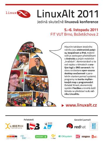 Pozvánka na LinuxAlt 2011