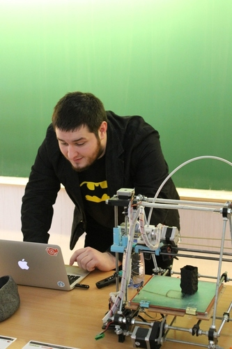Josef Průša: RepRap 3D printer
